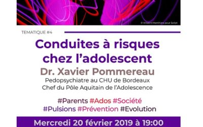 Rencontres Parents – Conduites à risques chez l'adolescent