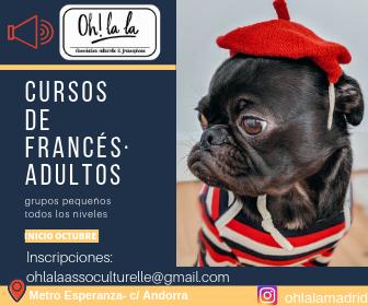 cursos de francés para padres de alumnos (OH LA LA)